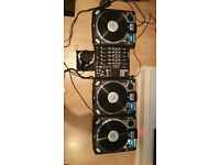 3 x Numark CDX's, 1 x Numark 5000 FX Mixer and 1 x Pioneer HDJ -1000 headphones £280