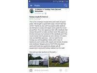 Kampa croyde 8 xl tents