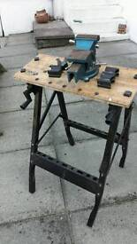 Vice and work bench