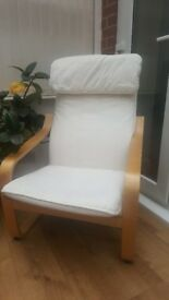 Ikea 'POÄNG' Type Armchair