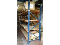 Pallet racking shelving heavy duty shelves W 286cm X D 90cm X H 25cm