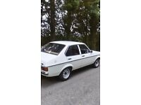 Mk 2 escort 11 months mot lhd bargain ! I may consider px with another classic car with cash my way