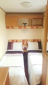 Cheap static Caravan for sale. 8 berth holiday home a beautiful park. 2017 site fees included! wow!!
