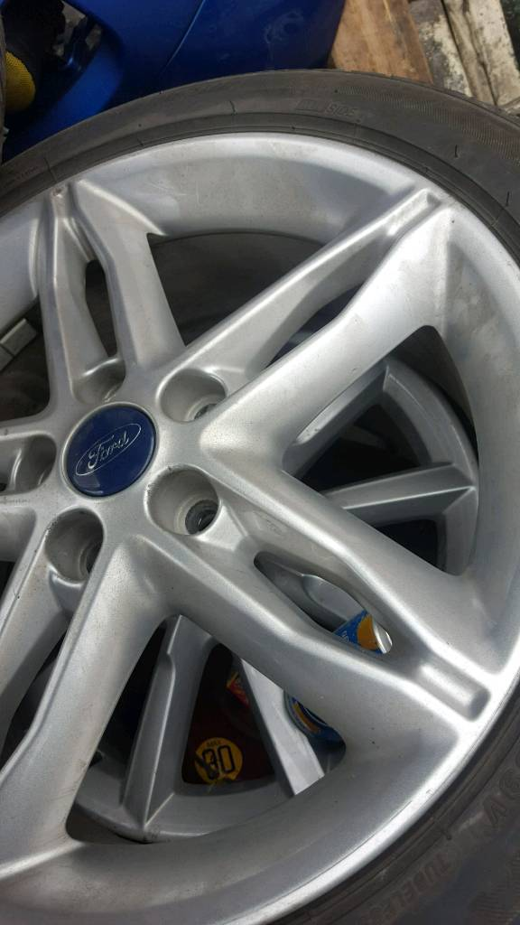 Ford fiesta alloy wheel with good tyre £50