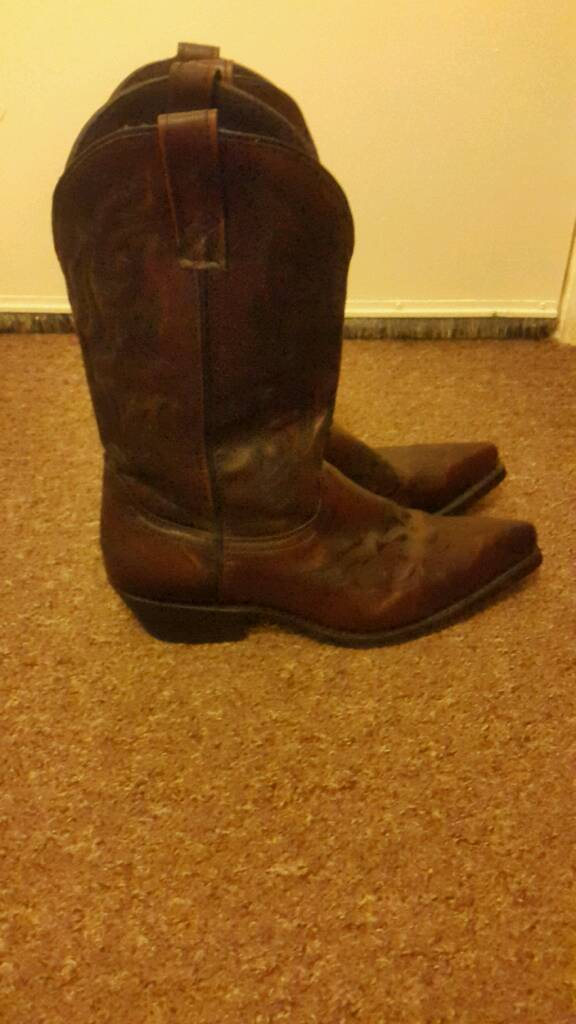 21391416f57 Genuine Laredo cowhide leather Cowboy boots | in Walton, Merseyside |  Gumtree