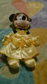Disney Minnie mouse dressed as belle