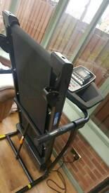 Pro fittness electric treadmill