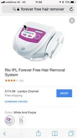 Forever Free hair removal system