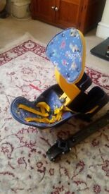 Baby bike seat Polisport Quokka front mounted seat