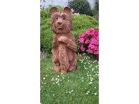 Chainsaw Carved Wooden Bear