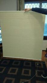Duoshade thermal pleated blind
