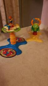 VTECH sit and stand / bounce turtle