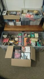 Joblot Bundle Retro Electronics Spares DVD's Games Resell Market Car Boot Stock