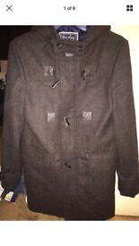 Men's tweed duffle coat