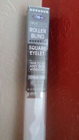 Brand new Roller Blind white 150cms trim to fit £7