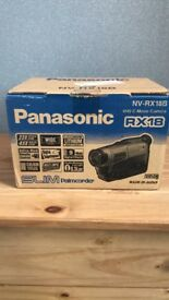 Panasonic camcorder. Boxed and carry case.