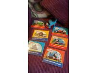 thomas the tank engine book collection & train makes sounds pick up bd6.