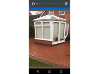 Conservatory dismanted