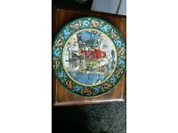The legend of King Arthur plate