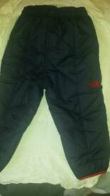 North Face Baby Ski trousers & Hat