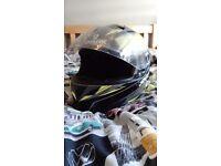 Rst motorbike clothing and Shark helmet