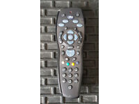 Sky HD Plus Remote Control Dark Grey and black £5