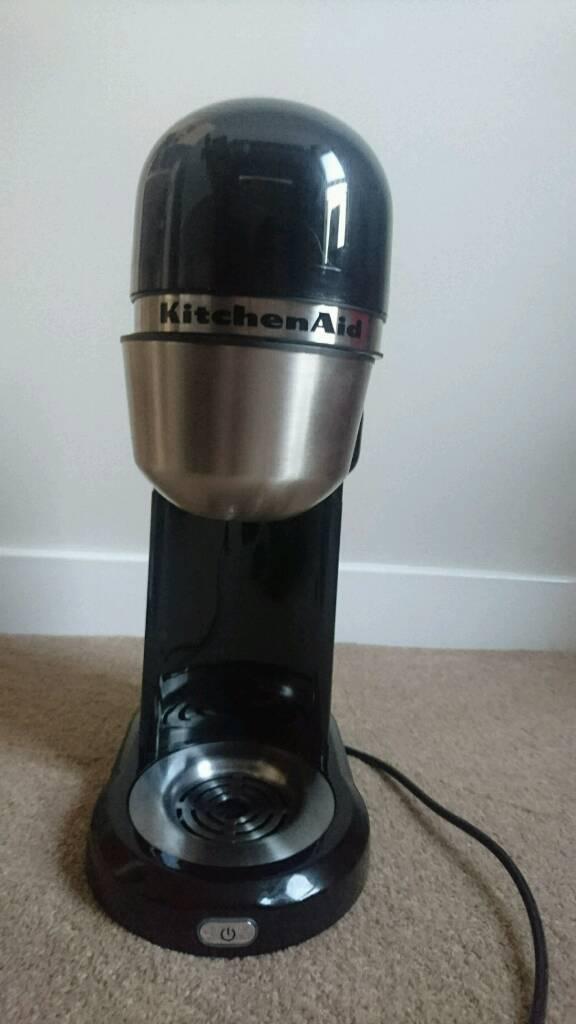 how to clean kitchenaid coffee machine