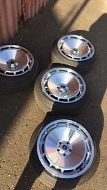 Rota d154 5x100 16 alloys (vw low stance fitment dubshed wheels alloys)