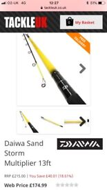 Daiwa sandstorm 13ft multiplier
