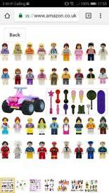 Lego sets.