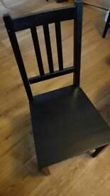 4 ikea stefan chairs