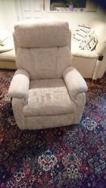 Electric Recliner with Heat & Massage