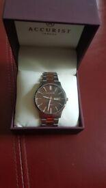 Genuine Accurist Men's Bracelet Watch New