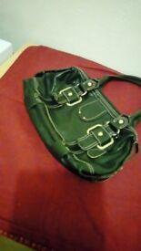 black tula handbag