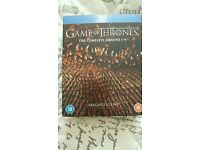Game of thrones dvd blue ray
