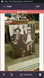butch cassidy and the sundance kid large canvas