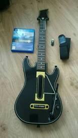 Guitar Hero Live + Guitar - PS4