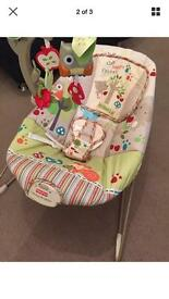 Fisher price bouncer chair Excellent condition