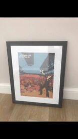 Chemical Brothers framed art print