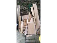 Bits of wood