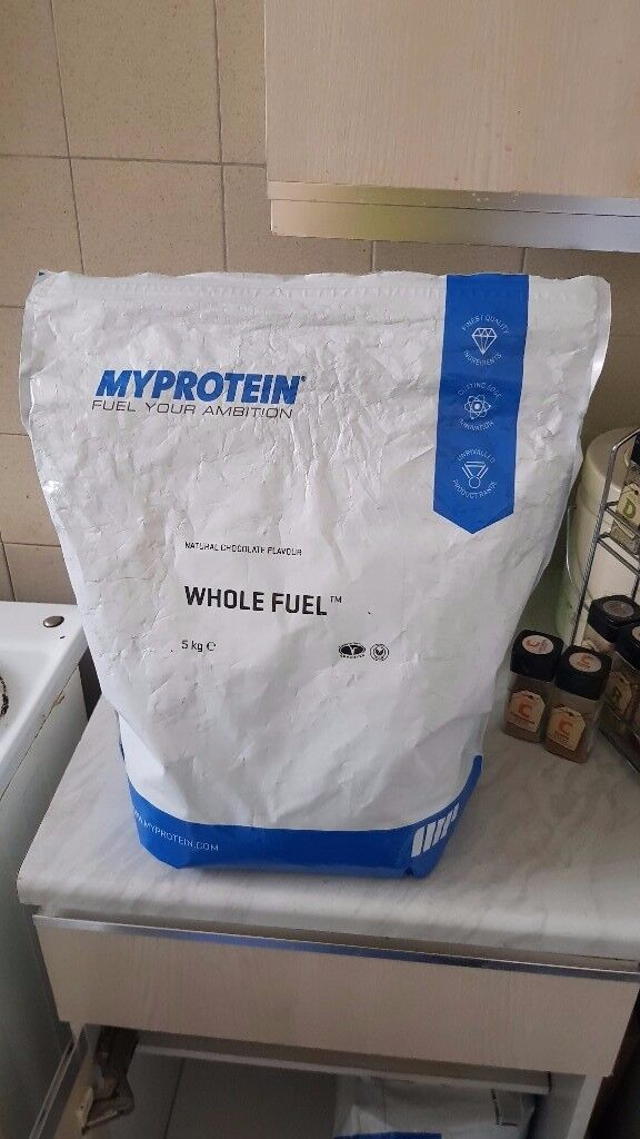 Myprotein Whole Fuel 3 KG Premium Vegan Blend Meal replacement