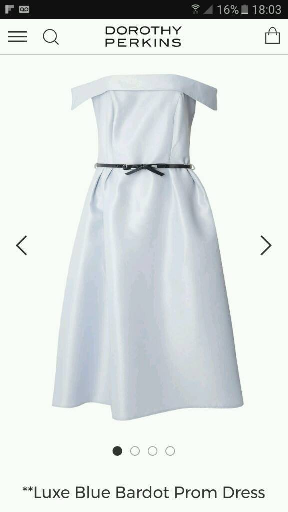 Pale blue size 14 dress