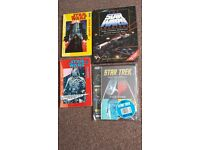 Star Wars /Star Trek Graphic Novels & Star Wars Archives Book Ex+