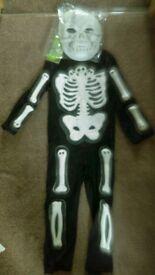 Skeleton costume, age 5-6