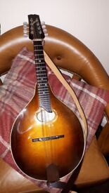 Beautiful Oval A carved top Mandolin By William (Bill)J Bussmann