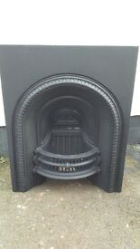 restored cast iron mantle