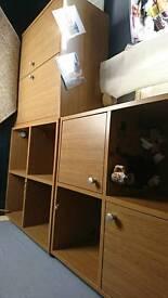 Bedroom storage units