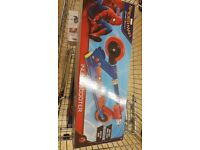 Brand new never opened spiderman inline scooter age 5yrs