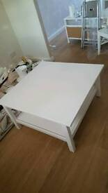 White coffee table- brand new