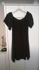 Brand new black glittery dress